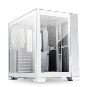 Lian Li O11 Dynamic Mini Snow Edition, Midi-Tower, Tempered Glass - fehér (O11D Mini-S)