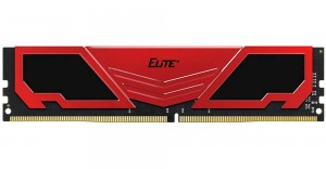Teamgroup Elite Plus Black/Red RAM DDR4 8GB (1x8) 2666MHz TPRD48G2666HC1901