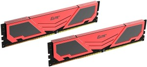 Teamgroup Elite Plus Black/Red RAM DDR4 16GB (2x8) 3200MHz TPRD416G3200HC22DC01