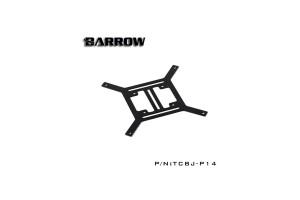Barrow Water discharge external plane bracket 140mm sík konzol /TCBJ-P14/