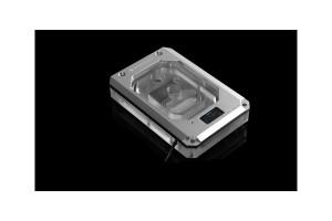 BarrowCH X399 AMD Threadripper CPU Water Block Color screen with multi mode - Silvery