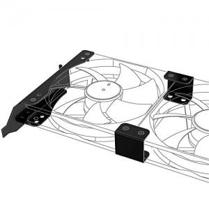 Akasa PCI beszerelõ keret 120mm ventilátorhoz /AK-MX304-12BK/