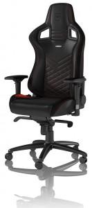 noblechairs EPIC PU Bõr Fekete/Piros gamer szék /NBL-PU-RED-002/