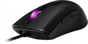 ASUS ROG KERIS Gaming egér, RGB - fekete (90MP01R0-B0UA00)