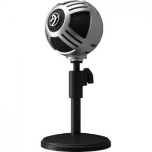 Arozzi Sfera asztali mikrofon, USB - króm (SFERA-CHROME)