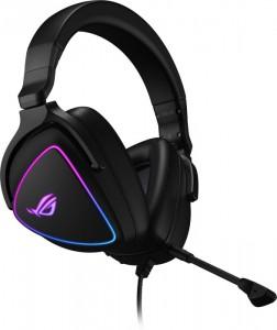ASUS ROG Delta S Gaming Stereo Gaming Headset, RGB - fekete (90YH02K0-B2UA00)