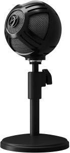 Arozzi Sfera asztali mikrofon, USB - fekete (SFERA-BLACK)
