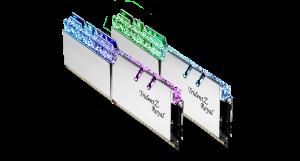 G.Skill Trident Z Royal Silver DIMM Kit 16GB, DDR4-4800, 17-19-19-39 /F4-4800C17D-16GTRS/