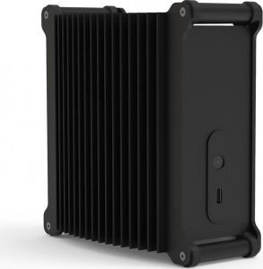 Streacom DB1 Mini-ITX ház - fekete  (ST-DB1B)