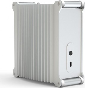 Streacom DB1 Mini-ITX ház - ezüst (ST-DB1S)