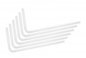 EKWB EK-Loop Hard Tube 14mm 0.8m Pre-Bent 90° - Acrylic (6pcs) (3831109826058)