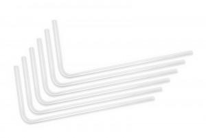 EKWB EK-Loop Hard Tube 12mm 0.8m Pre-Bent 90° - Acrylic (6pcs) (3831109826041)
