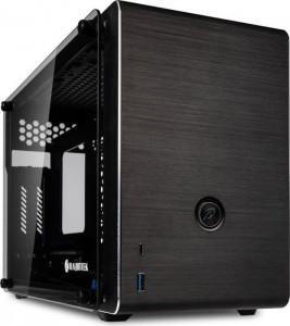 Raijintek Ophion Mini-ITX ház, edzett üveg - fekete (0R20B00103)