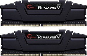 G.Skill RipJaws V fekete DIMM Kit 32GB, DDR4-4000, CL16-16-16-36 (F4-4000C16D-32GVKA)