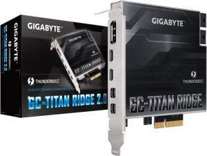 Gigabyte GC-Titan Ridge 2.0, Thunderbolt vezérlőkártya, PCIe 3.0(GC-TITAN RIDGE 2.0)