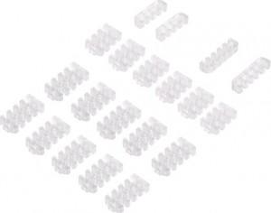 Silverstone SST-PP09, Kábelfésű szett, átlátszó (SST-PP09)