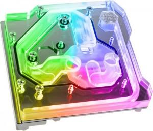 Bitspower Monoblock ASUS ROG Maximus XI Extreme RGB, Nickel (BP-MBASMXIH)