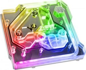 Bitspower Monoblock ASUS ROG Maximus XI Extreme RGB, Nickel (BP-MBASMXIE  (BP-MBASMXIE)