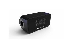 Bykski B-TFC-X Digital alumínium áramlásmérő modul OLED kijelzővel - Black /B-TFC-CS-X/
