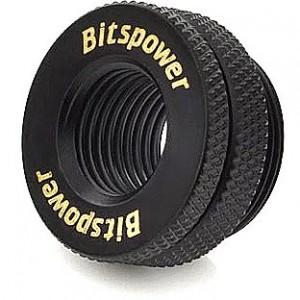 BitsPower betöltő nyílás G1/4 inch - carbon black (BP-CBWP-C04)
