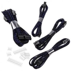 Phanteks kábel hosszabbító szett - fekete/kék(PH-CB-CMBO_SBL)