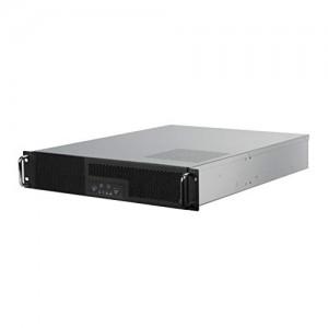 Silverstone RM23-502 Rackmount Server - szerverház - ATX, USB 3.0 - 2U, fekete(SST-RM23-502)