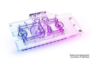 Alphacool Eisblock Aurora Acryl GPX-N RTX 3070 ROG Strix + Backplate /11957/