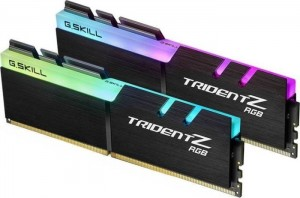 G.Skill Trident Z RGB DIMM Kit 16GB, DDR4-4000, CL14-15-15-35 (F4-4000C14D-16GTZR)
