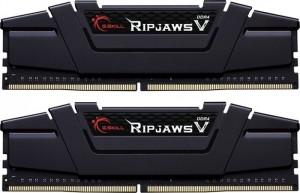 G.Skill RipJaws V fekete DIMM Kit 16GB, DDR4-3600, CL14-14-14-34 (F4-3600C14D-16GVKA)