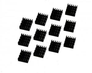 Watercool passzív hűtő VGA RAM-hoz, 12 darabos csomag 13 x 5 x 16 mm (68002)