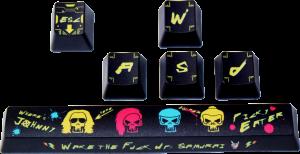 Traitors Where's Johnny, Keycap Set, PBT 5-side Dye-Sub(TRDWJ3921)