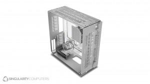 Singularity Computers Wraith ITX/DTX - silver (SC-WRAITH-SL)