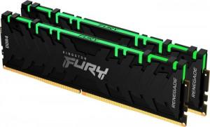 Kingston FURY Renegade RGB DIMM Kit 64GB, DDR4-3600, CL18-22-22 (KF436C18RBAK2/64)