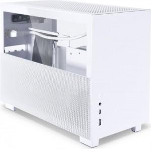 Lian Li Q58 fehér, PCIe 4.0 Edition, üvegablak, Mini-ITX (Q58W4)