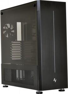 Lian Li PC-V3000WX TG, Big-Tower - fekete (PC-V3000WX TG)