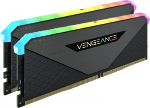Corsair Vengeance RGB RT Gunmetal DIMM Kit 16GB, DDR4-3600, CL16-20-20-38 (CMN16GX4M2Z3600C16)