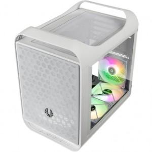 BitFenix Prodigy M 2022 ARGB Micro-ATX, edzett üveg - fehér (BFC-PM2-300-WWGSW-3A)