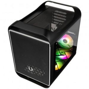 BitFenix Prodigy M 2022 ARGB Micro-ATX-ház, Tempered Glass - fekete(BFC-PM2-300-KKGSK-3A)