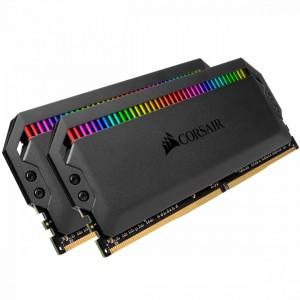 Corsair 32GB DDR4 3200MHz Kit(2x16GB) Dominator Platinum RGB Black (CMT32GX4M2E3200C16)