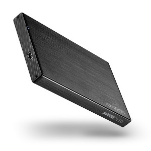 Axagon EE25-XA3 SATA II 2.5½ USB 3.0 Fekete Alu /EE25-XA3/