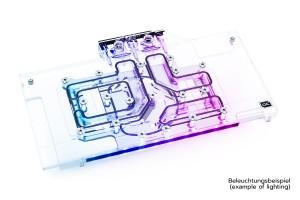 Alphacool Eisblock Aurora Acryl GPX-A RX 6700XT Gaming X + Backplate /11966/