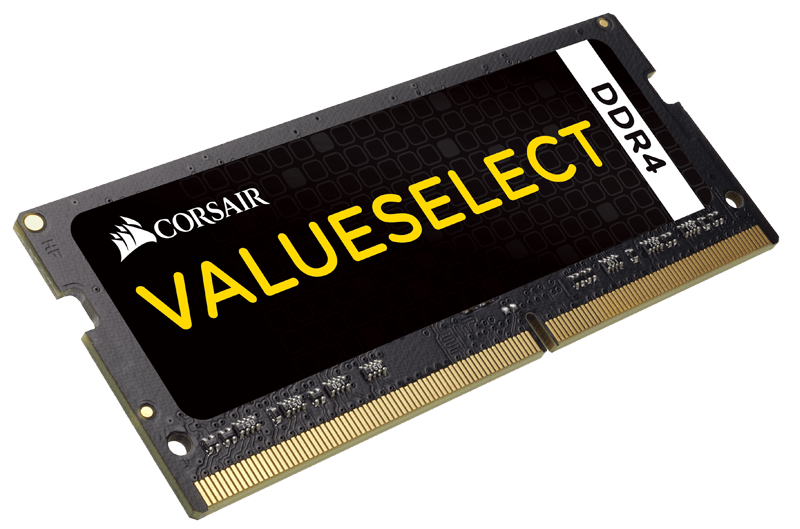 Corsair ValueSelect SO-DIMM 4GB DDR4-2133 CMSO4GX4M1A2133C15