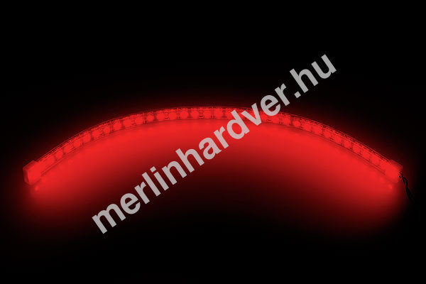 Phobya LED-Flexlight High Density 30cm Piros - (36x SMD LED)