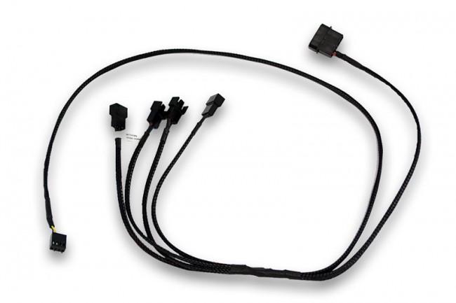 EKWB Cable Splitter 4-Fan PWM Extended /3831109867808/