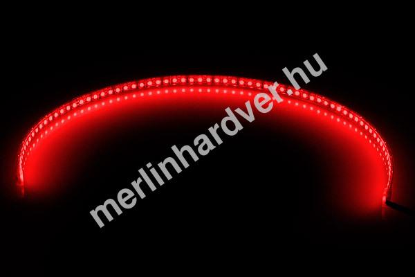 Phobya LED-Flexlight High Density 60cm Piros - (72x SMD LED)