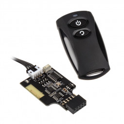Silverstone SST-ES02-USB, PC Power on/off /SST-ES02-USB/