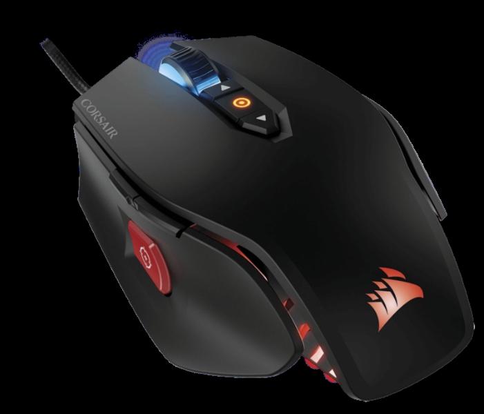 Corsair M65 PRO RGB FPS Gaming optikai egér fekete /CH-9300011-EU/