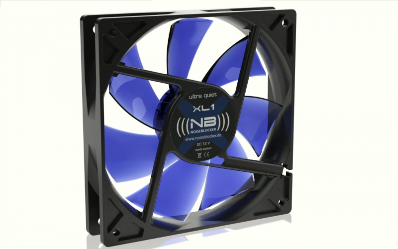 Noiseblocker BlackSilentFan XL1 - 120mm