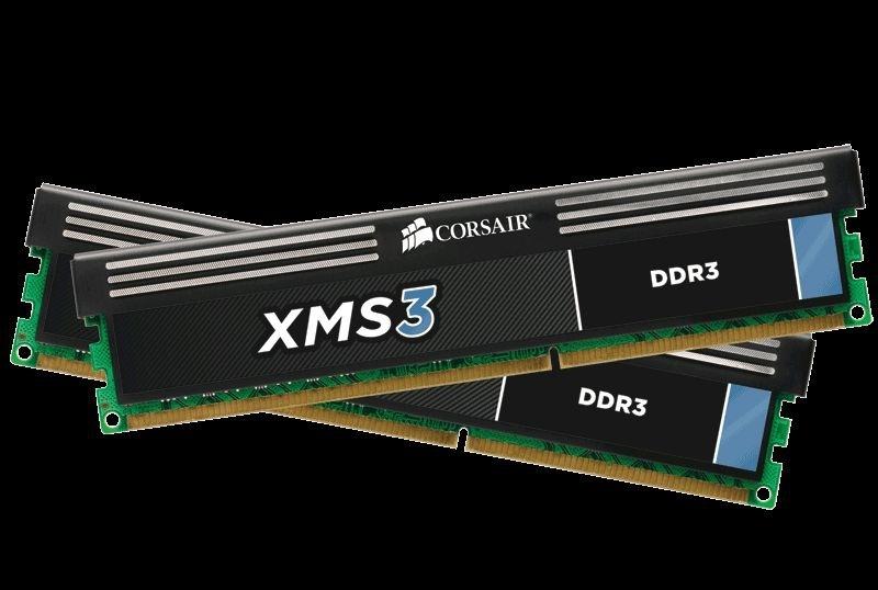 Corsair DIMM 8 GB DDR3-1600 Kit (CMX8GX3M2A1600C9)