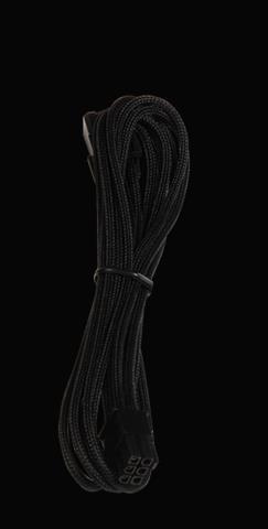Bitfenix 6-Pin PCIe hosszabbító 45cm - fekete / fekete